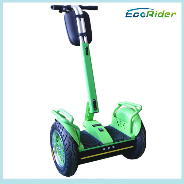 Fast Self Balancing Scooters / Green Rechargeable Electric Scooter Indoor