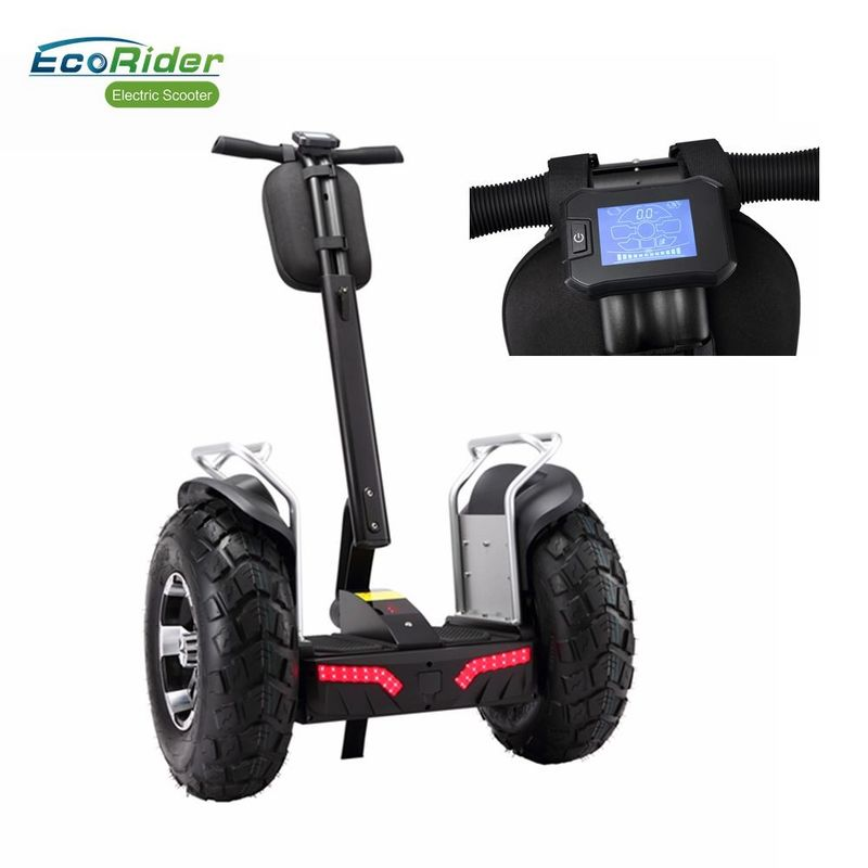 EcoRider Double 72V Battery Segway Electric Scooter 4000W Brushless 21 Inch Big Tire