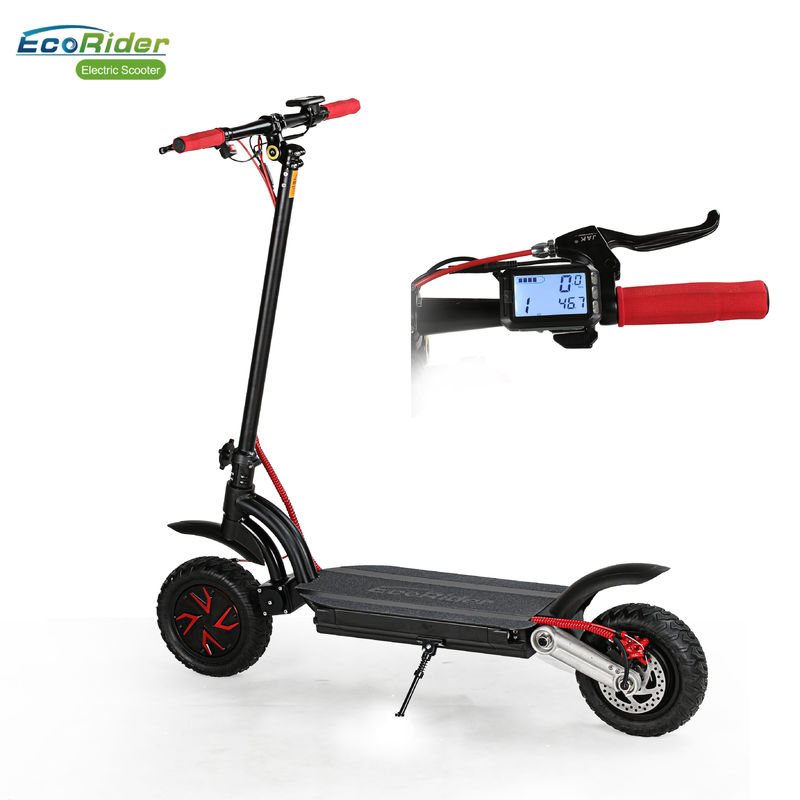Long Range Kick Foldable Electric Scooter Dual Motor And Battery Electric Off Road